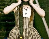 Striped Neo-Victorian Classic Lolita Jumperskirt - Aurorette