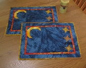 Starry Starry Night set of 2 placemats
