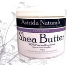 Lavender Unrefined Shea Butter 4oz