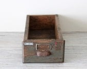 industrial wooden drawer no.6