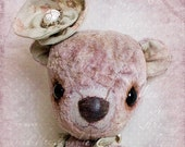 Teddy bear 10inch OOAK