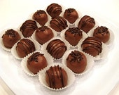 Double Chocolate Fudgy Cake Truffles