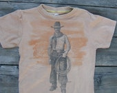 COWBOY -- great children's tee in size 6/8