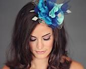 Allison - Fairy tale blue headband