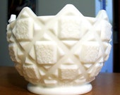 Westmoreland Old Quilt Compote Bowl