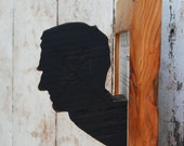 The Mounted Head from Reclaimed Wood