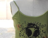 Gas Mask Camisole Tank size JUNIORS XL
