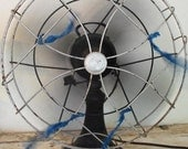 Huge Antique Cast Iron Fan