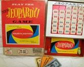 Jeopardy Game 4th Edition 1964 Milton Bradley