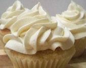 Vegan Vanilla Cupcakes with Vanilla Frosting