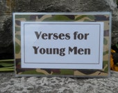 KJV Scripture Memory Cards - YOUNG MEN
