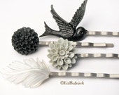 Graphite Ombre Bobby Pins - FREE shipping