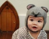 MOUSE cute cashmere hat for your precious bundle of joy