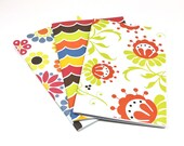 Set of 3 - 5x8 Notebooks - Spring Time
