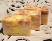 Cranberry Peach Melba Cold Process Soap