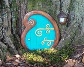 Garden Fairy Door Curlyque - FREE SHIPPING