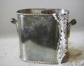silver plated wine bucket