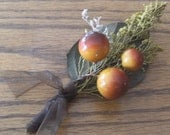 Autumn Wedding Boutonniere
