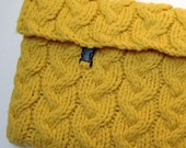Knitting pattern - Sunny Laptop Sleeve