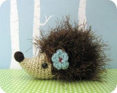 PDF- Little Amigurumi Hedgehog Pattern