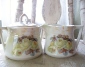 Bavarian Cream and Sugar Set