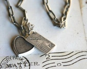 love note. pendant necklace
