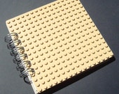 Lego Spiral Bound Journal Beige