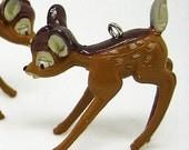 B760- 4pcs Bambi Plastic Charms