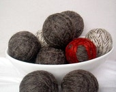Set of 6 Pure Wool Eco Friendly All Natural Dryer Balls