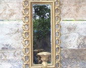 Vintage Syroco mirror, Homco, wall sconce, ornate, gold, Hollywood Regency on Etsy