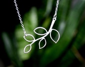 Branch Leaf Necklace
