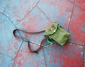Upcycled Army Surplus Bag