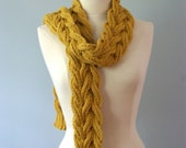 Handmade Knit Aspen Scarf - Ready to Ship