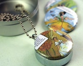 FAIRY TALE Girls Recycled Magnetic LOCKET SET By Polarity