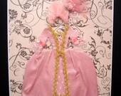 Marie Antoinette Personalised Dress Card / Let Them Eat Cake / Handmade Greeting Card
