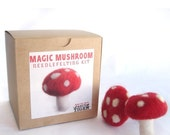 Magic Mushroom Needle Felting Kit