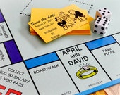 Monopoly Personalized Save the Date Printable Photo Card