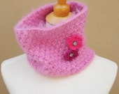 HOLIDAY SALE  Sandra Cowl-Pink