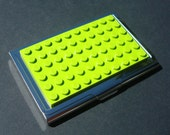 LEGO my Business Card Case LIme Green