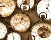 Antique Clocks Photograph