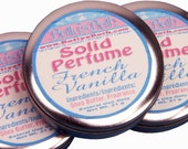 French Vanilla Handmade Solid Perfume