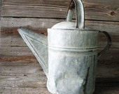 Farmhouse Chic Watering Can, vintage