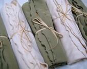 Handmade XL ORGANIC Cotton BAMBOO Receiving Blanket