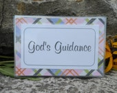 KJV Scripture memory cards -- GOD'S GUIDANCE