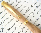 Wooden Pen Turned in Hackberry Wood -- nice handmade gift