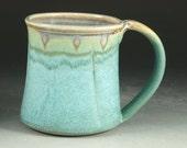 Large Turquoise Mug with Large Handle (20oz)
