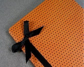 Pumpkin Polka Dots Mini Journal Notebook