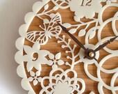 Kirie 01 Bamboo Clock