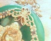 Jade Buddha Vintage Tibetan Pendant
