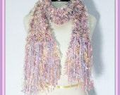 Knit Scarf - Pastel Fluff